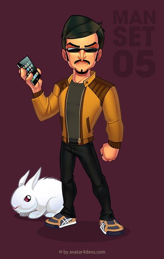 Iphone man avatar