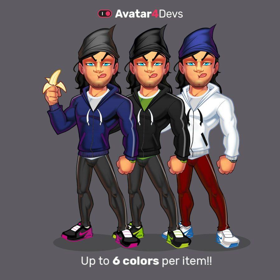 Avatar variations