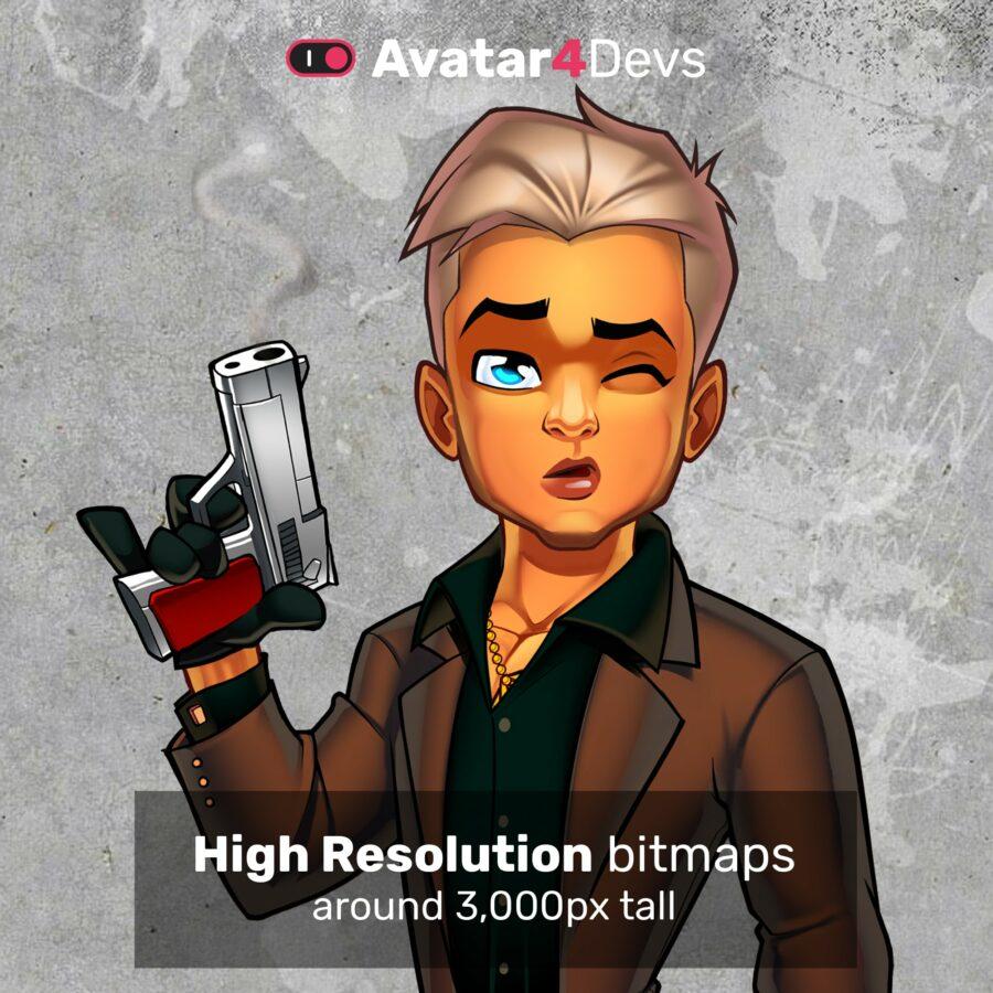 Mafia avatar creator