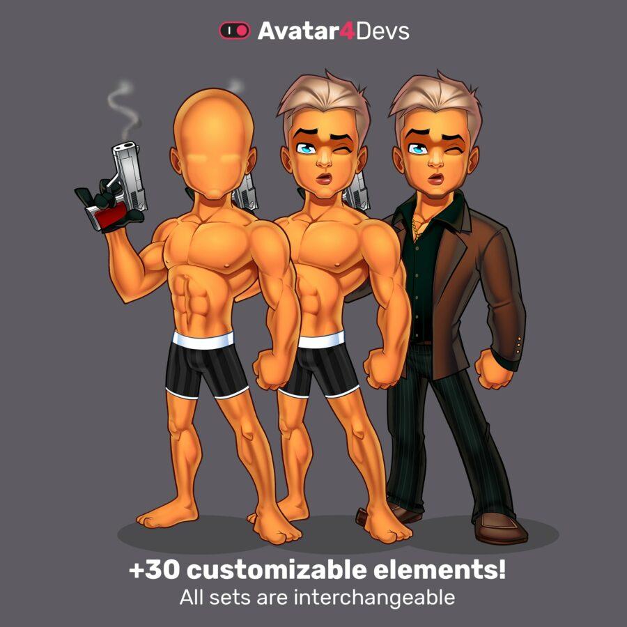 30 customisable elements