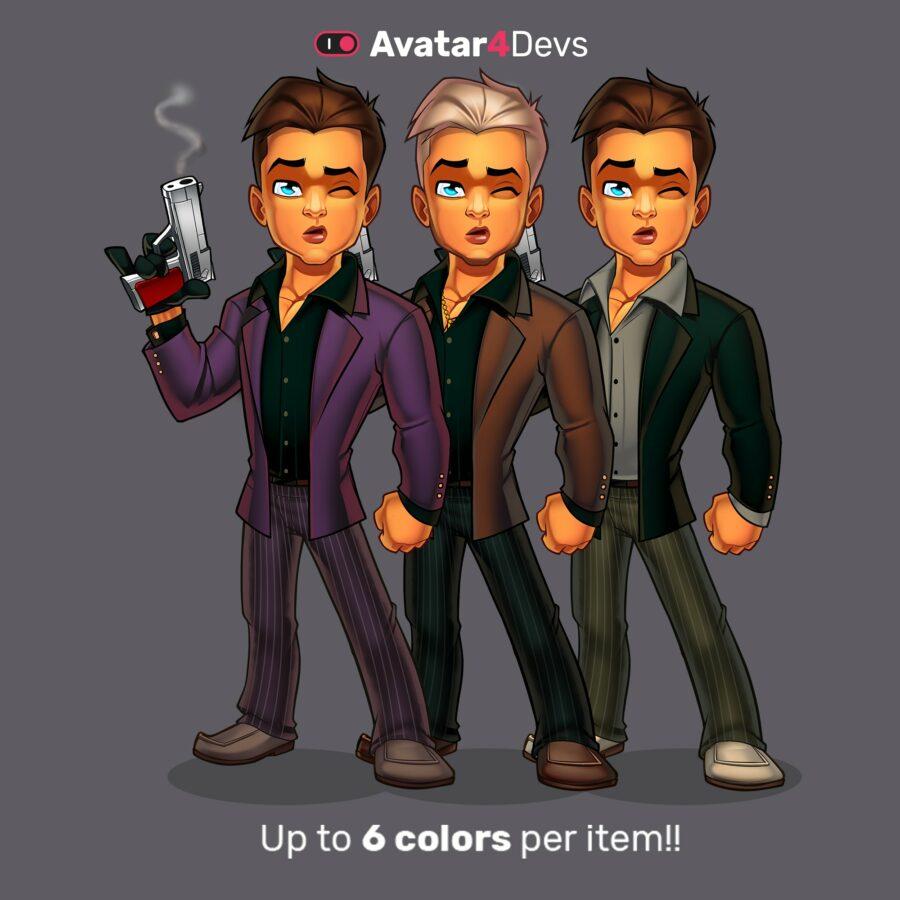 6 Color variations