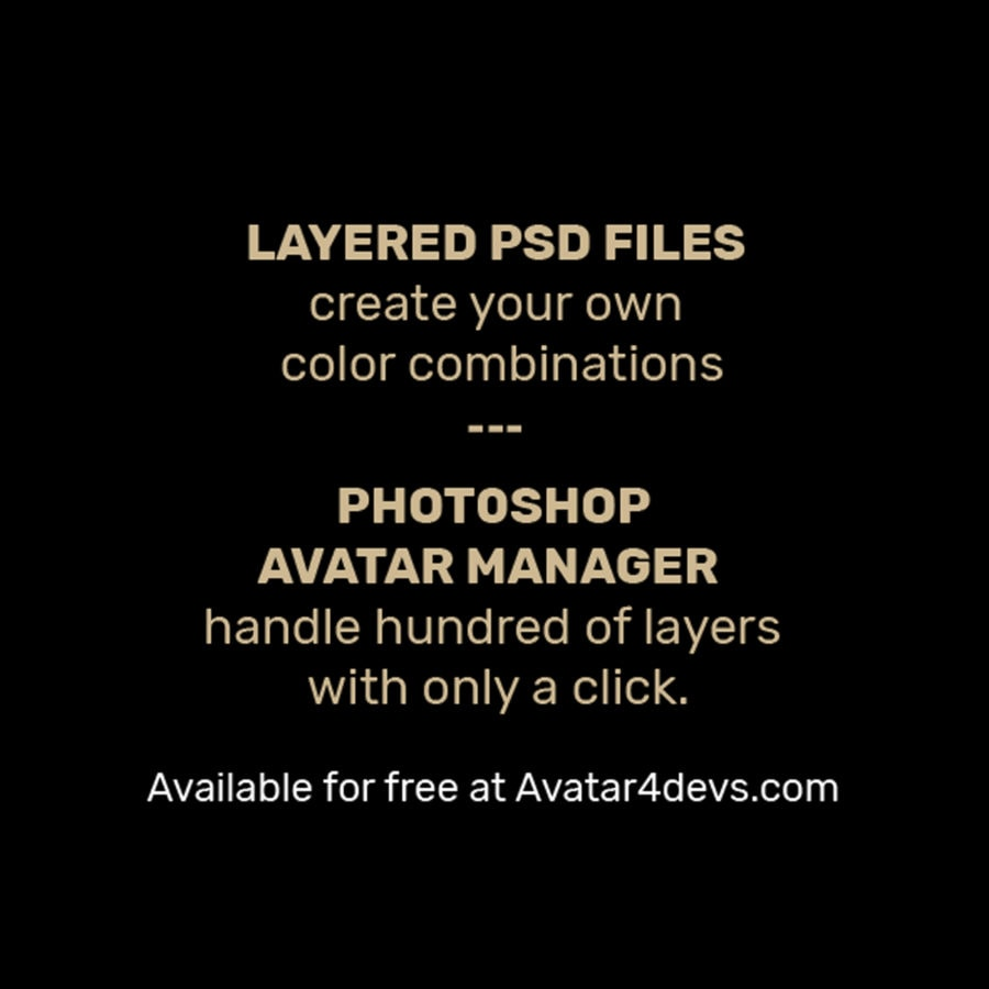 Photoshop Avatar Manager