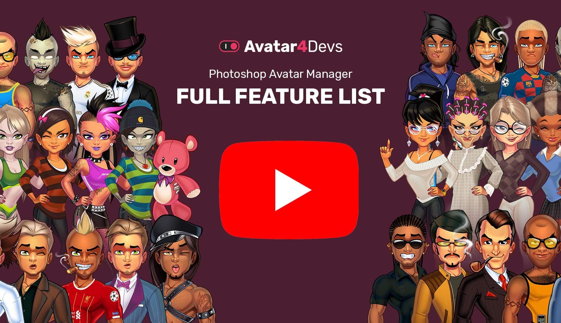 Avatar Manager Features